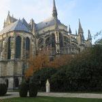 Chevet de la Cathédrale Notre Dame de Reims