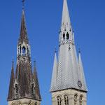 Clochers de la Collégiale de Notre-Dame-en-Vaux