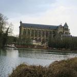 Cathédrale St Etienne à Châlons vue du Grand Jard
