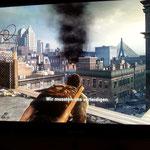 Explosion in der Stadt