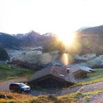 Sonnenaufgang über Ahornenvorsäß