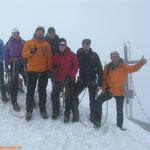 """Der """"Höhepunkt"""" unserer Tour ist erreicht. Großvenediger 3.674 m"""