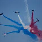 Patrouille de France dernière présentation 2015