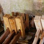 Fontaine de Vaucluse - Fabrication de la pate à papier