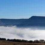 Millau sous les nuages