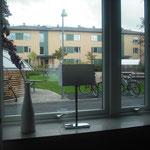 パッシブ集合住宅|出窓ではないですが、オブジェなどを置くスペースができます。
