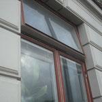 スエーデン街中の窓