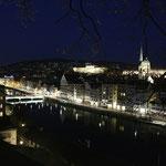 Zürich by Night, ab Lindenhof aufgenommen