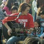 a charity hanami party at a Ichikawa park, April 2011