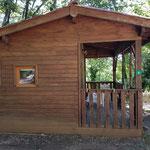 Chalet sans sanitaire 4 personnes, en camping
