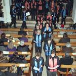 Festlicher Ausmarsch des Kirchenchores