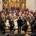 Der Musikverein Aasen unter Leitung von Edin Pasalic