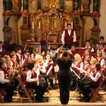 Das Jugendorchester unter der Leitung von Petra Bury
