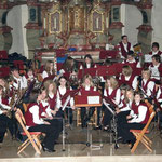 Das Jugendorchester des Aasener Musikvereines