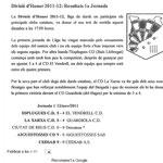 1ª Jornada temporada 2011/2012