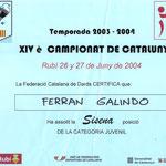 Diploma Ferran Galindo