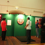 Escudero jugando la semifinal con Stuar