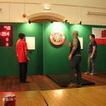 Fede jugando la semifinales con Dilan Duo