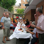 Calle de las migas donde celebramos las fiestas del club