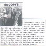 Ganador del open SNOOPYS