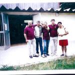 De izquierda a derecha Cesar Lopez,Pepe Basilio,Paco Bartolome,Domingo Lopez.Miguel cid