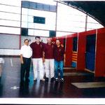 Manolo cid,Domingo,Cesar y paco