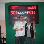 Fede campeon Escudero 2º