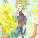 春の声◆はがきサイズ