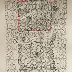 fabrik - lace I, collagraphie & cotton, 6 expl
