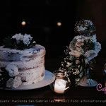 Pastel para Boda en cuernavaca morelos de noche oscuro