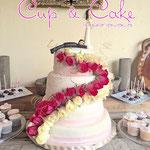 Pastel para Boda en cuernavaca morelos camino de rosas