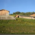 Bauernhof obehalb des Ferienhauses