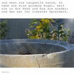 Foto von Brunnen und Satz aus Froschkönig.
