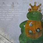 Foto von Froschkönig und Satz aus Froschkönig 1.