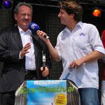 mit Münchens Oberbürgermeister Christian Ude