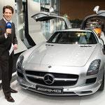 Autopräsentation bei Mercedes-Benz, München