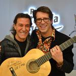 mit Singer- und Songwriterlegende Albert Hammond
