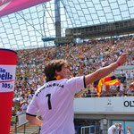 """Moderation """"Public Viewing"""" zur Fußball-Weltmeisterschaft 2010, Olympiastadion München"""
