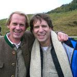 mit ex-Skirennrennläufer Markus Wasmeier