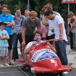 Bobfahren im Sommer… - auf dem Münchner Sportfestival