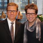 mit Bundesaußenminister Guido Westerwelle