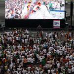 Uli auf 120 Quadratmetern… - Olympiastadion München