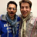 mit Schauspieler Rick Kavanian
