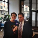 mit Bundesinnenminister Hans-Peter Friedrich