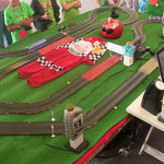 "Carrerakids.de ""D143 Rocket"" auf Kinder-Event, 270x150cm, 11,70-m-Rennstrecke"