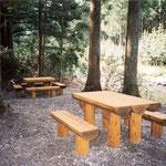 奈良県 テーブルベンチ /中谷産業株式会社