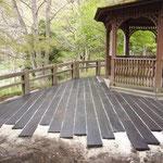 民間施設 枕木 /中谷産業株式会社