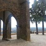 Blick vom Castillo auf Aracena