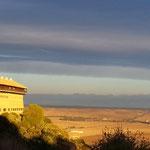 Blick auf die Landschaft vor Carmona