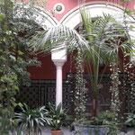 Typischer Patio in Sevilla